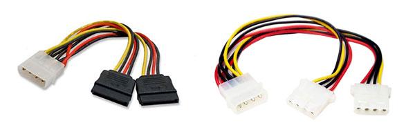 Molex & SATA power cables