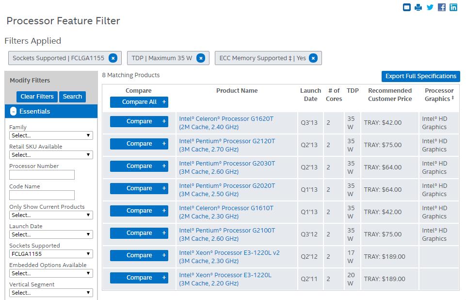 Possible HP Gen8 Microserver Upgrades