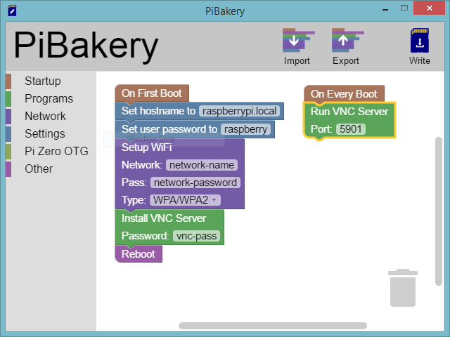 Configure Raspberry Pi With PiBakery