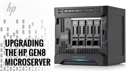Upgrading the HP Gen8 Microserver
