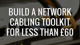 Build a network cabling toolkit