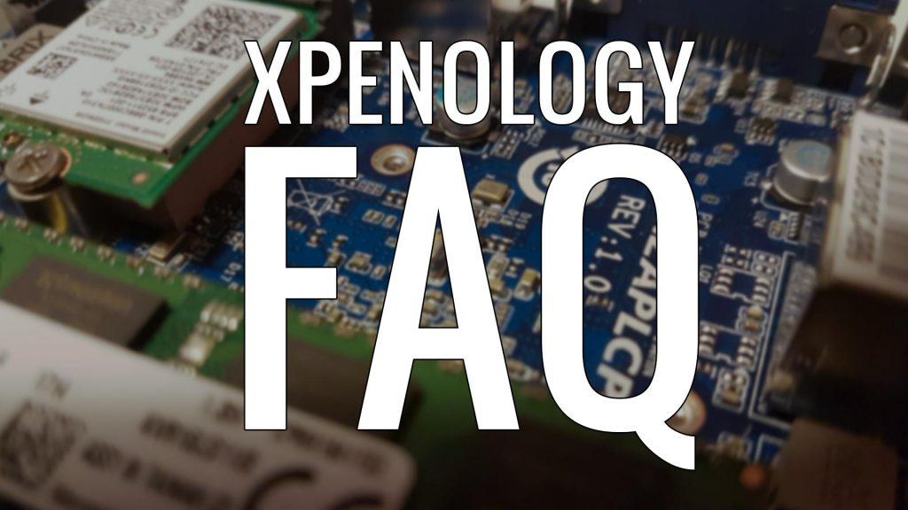 XPEnology FAQ